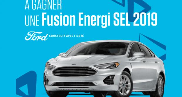 Gagnez une location de 24 mois d'une Fusion Energi SEL 2019