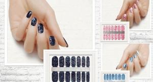 Échantillons Gratuits de bande de vernis à ongles
