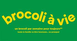 25 ans de brocoli chez Super C d'une Valeur de 3000$