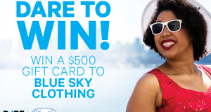 Carte-cadeau Blue Sky Clothing de 500 $