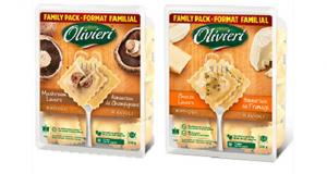 Coupon de 2$ à l'achat de pâtes ou sauces Olivieri