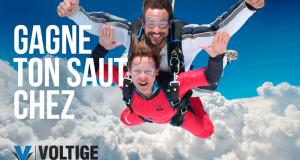 Gagne ton saut en parachute chez Voltige
