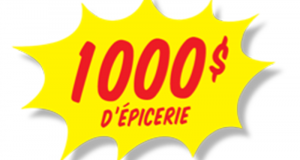 8 Cartes-cadeaux Choix du Président de 1000$ chacune
