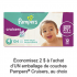 Coupon de 2$ à l'achat d'un emballage de couches Pampers Cruisers