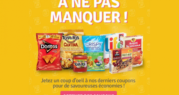 Coupons rabais disponibles sur le site Prime & Delices