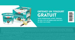 Gratuit Un yogourt Kéfir probiotique Astro Original 500g