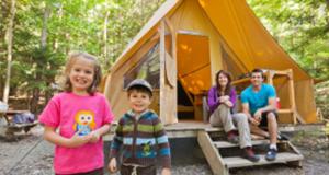 Séjour en tente prêt-à-camper pour 4 personnes