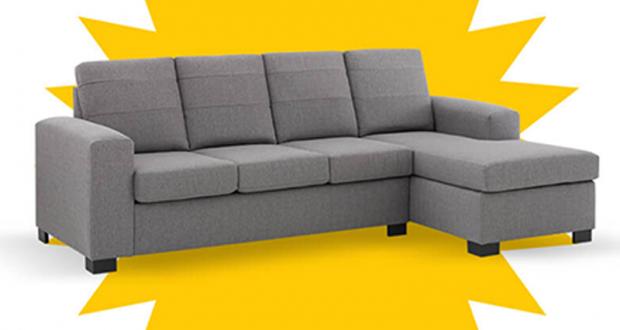 Un sofa modulaire offert par EconoMax (Valeur de 799$)