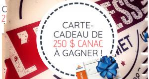 Une carte-cadeau de 250$ à dépenser chez Canac