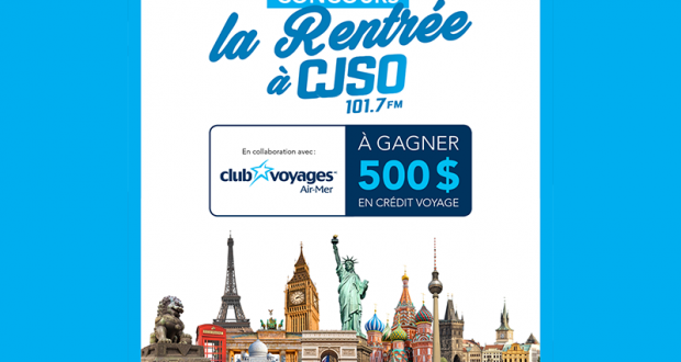 Gagnez 500$ en crédit voyage