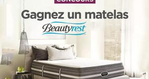 Gagnez un Matelas Beautyrest d'une valeur de 2900$