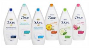 Échantillons Gratuits du gel pour le corps Dove