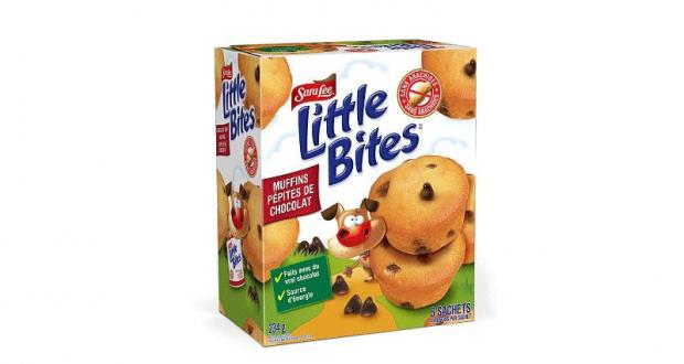 Coupon de 1$ à l'achat de 2 boîtes de muffins Sara Lee Little Bites