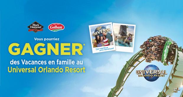 Gagnez des vacances en famille au Universal Orlando Resort