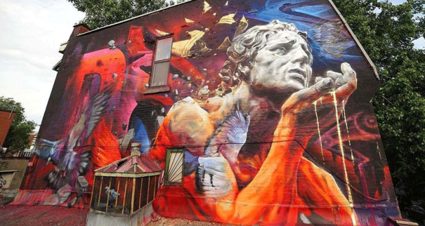 Mural - Festival d'Art Public