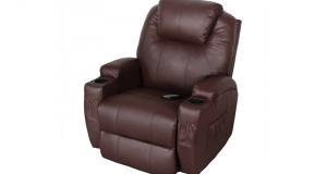Un fauteuil de massage inclinable