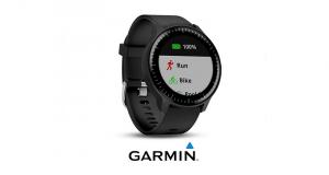Une montre de course avec GPS Garmin Vivoactive 3