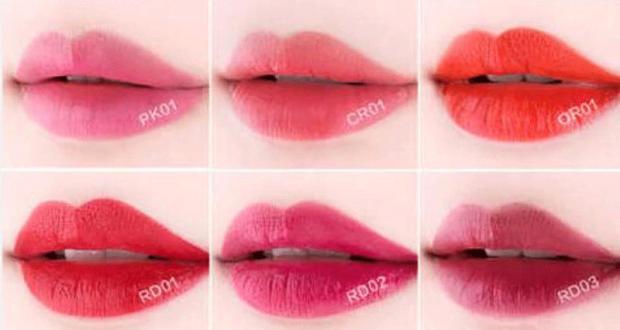 Échantillons gratuits de Rouge à lèvres liquide
