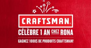 2 Ensembles de produits Craftsman de 1800 $ chacun