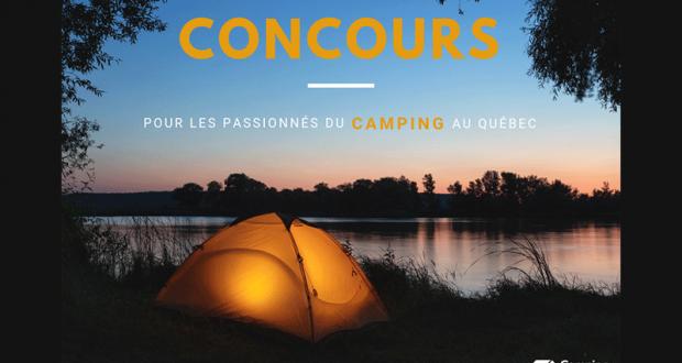 500 $ en chèque-cadeau Camping Québec