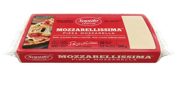 Barre de fromage Mozzarellissima Saputo 500g à 3.98$