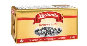 Beurre salé Lactantia à 2.94$