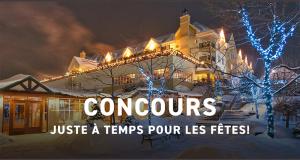 Carte-cadeau de 500$ valide au Domaine Château Bromont