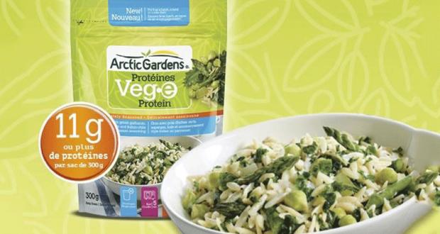 Coupon de 1$ à l'achat d'un sac d'Arctic Gardens Protéines