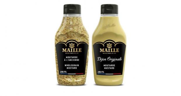 Coupon de 1$ à l'achat d'une moutarde Maille comprimable