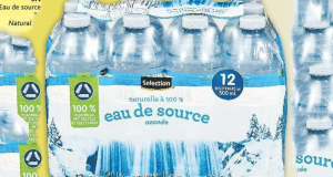 Eau de source naturelle Selection 12 x 500ml à 88¢