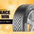 Ensemble de pneus Continental ou General Brand (Valeur de 1800$)