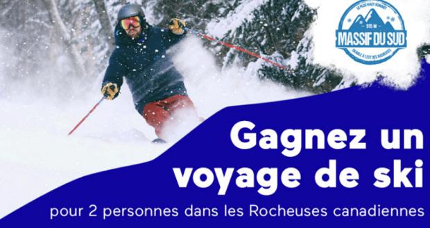 Gagnez un voyage de ski pour 2 personnes (Valeur de 5 000 $)