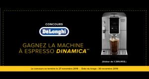 Machine à Espresso Delonghi d'une valeur de 1300$