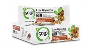 Obtenez gratuitement un bar de 40g à 50g SoLo Nutrition