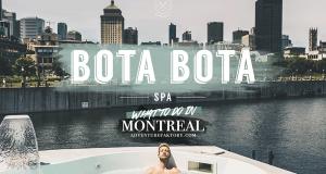 Une journée complète pour deux au spa sur-l'eau Bota Botta
