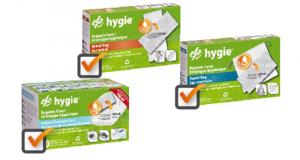 Échantillons Gratuits de produits de gestion des excreta d'Hygie