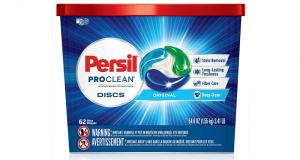 Échantillons gratuits de détergent concentré Persil ProClean Discs