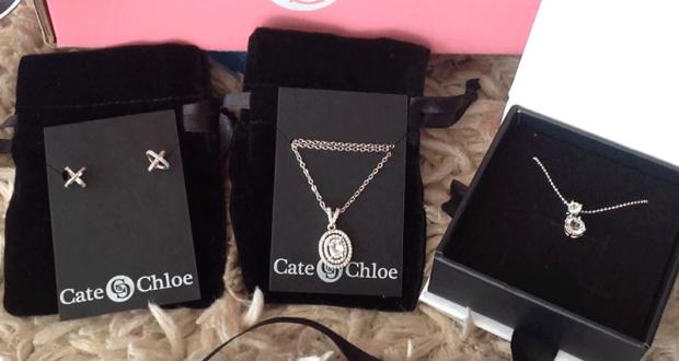 600$ en bijoux Cate & Chloe
