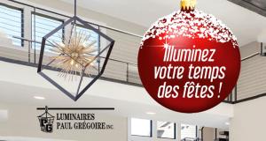 Carte-cadeau Luminaire Paul Grégoire de 500 $