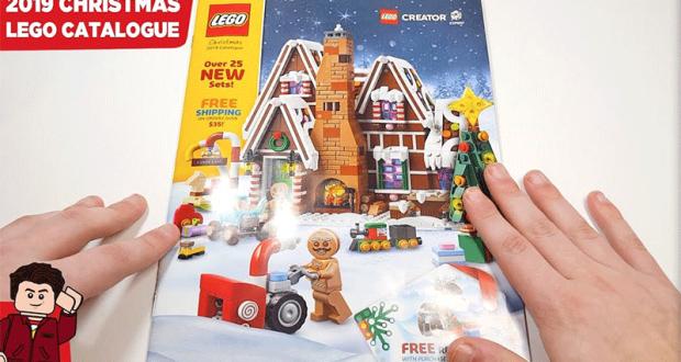 Recevez gratuitement votre Catalogue de Noël Lego 2019