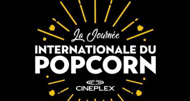 Du popcorn gratuit dans les cinémas Cineplex