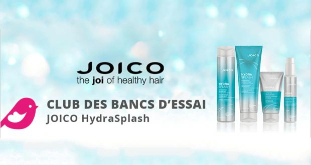 Testez la gamme complète Joico HydraSplash