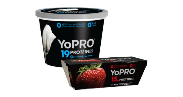 Coupon de 1$ à l'achat d'un emballage de yogourt skyr YoPRO