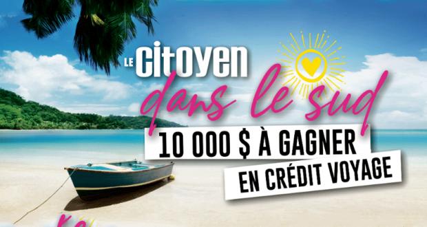 Gagnez 5 000$ sous forme de crédit voyage