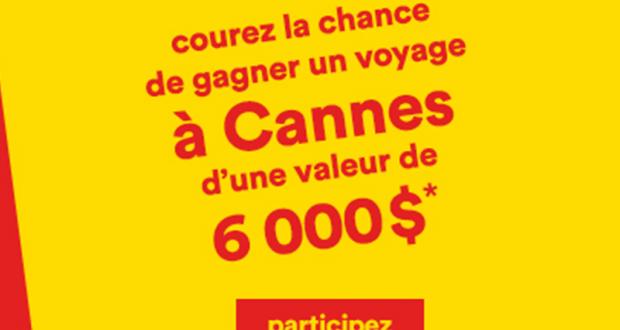 Gagnez Un voyage familial à Cannes (Valeur de 6 000$)
