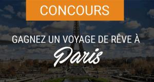 Gagnez un voyage pour deux personnes à Paris (Valeur de 9800$)