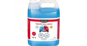 Liquide lave-glace Selection à 1.92$