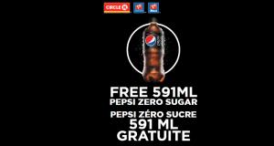 Obtenez gratuitement une Pepsi Zéro Sucre 591 mL