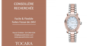 Une Montre or rose Gemma