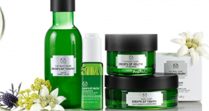 Échantillons gratuits des soins Drops of youth de The Body Shop